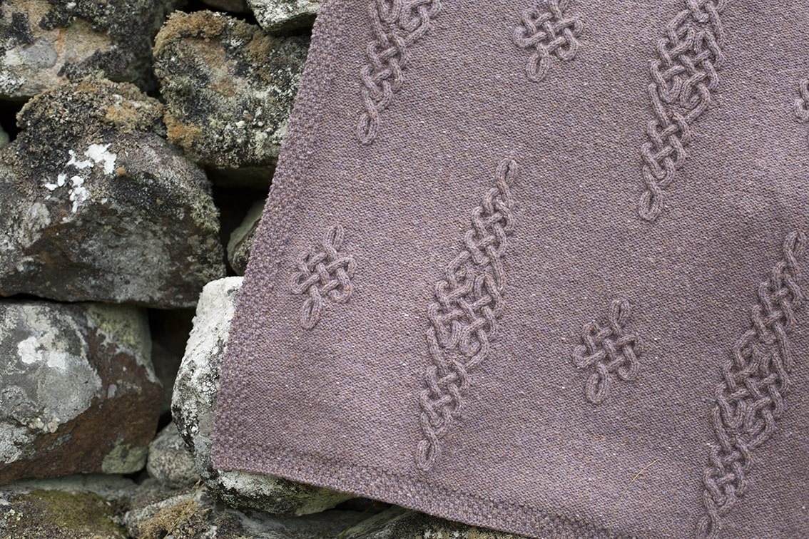 Dunadd patterncard design by Alice Starmore in Hebridean 3 Ply